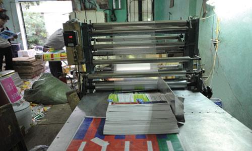 xưởng in ấn, xưởng gia công in ấn